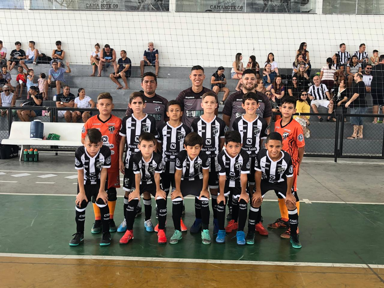 Base do futsal: Ceará conquista o primeiro turno do Cearense Sub-11