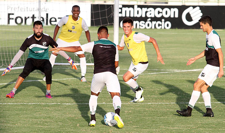 Alvinegros encerraram preparativos para a Final do Nordestão